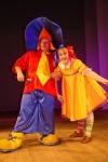 Незнайка и Пеппи - союз любопытного и всёзнающей путешественницы - играют, интригают, забавляют, оставляют много радости!:)